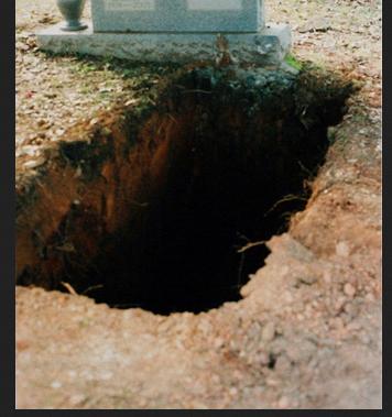 grave ..black hole
